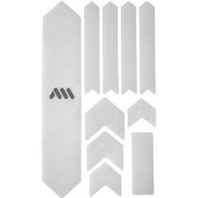 All Mountain Style Extra Kit di Protezione del Telaio 10 Pezzi, trasparente/argento